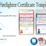 Firefighter Certificate Template [10+ Latest Designs]