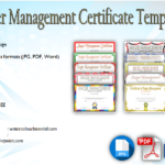 Anger Management Certificate Template [10+ Amazing Designs]