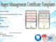 anger management certificate template, printable anger management certificate, anger management certificate pdf, anger management class certificate of completion, free anger management certificate of completion template, anger management course certificate