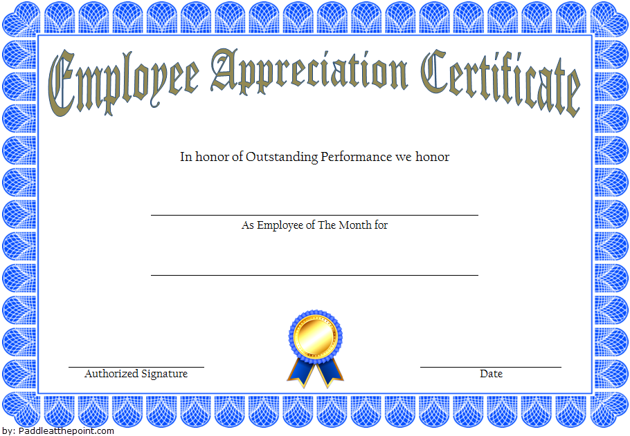 employee appreciation certificate template, employee recognition certificate template, employee appreciation certificate word template, certificate of appreciation for employees template, certificate of appreciation template word
