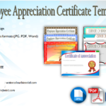 Employee Appreciation Certificate Template [7+ Great Designs Free]