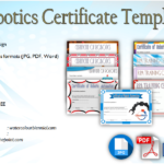 Robotics Certificate Template Free [9+ Great Designs]