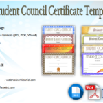 Student Council Certificate Template [8+ New Designs FREE]