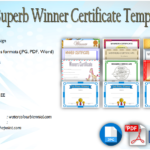Download 12+ Winner Certificate Template Ideas FREE