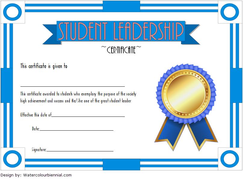 student leadership certificate template  10  designs free