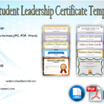 Student Leadership Certificate Template [10+ Designs FREE]