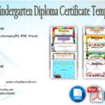 Kindergarten Diploma Certificate Templates: 10+ Designs FREE