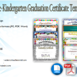 10+ FREE Editable Pre K Graduation Certificates [Word + PDF]