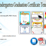 10+ Kindergarten Graduation Certificates to Print FREE