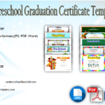 Preschool Graduation Certificate Free Printable: 10+ Designs